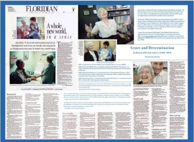 Joan Andrews Newspaper