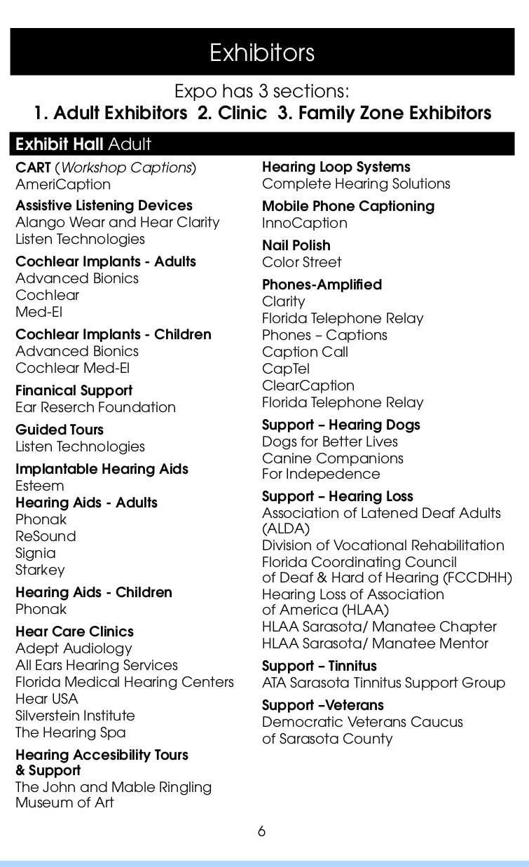 Hearing Tech Expo Info