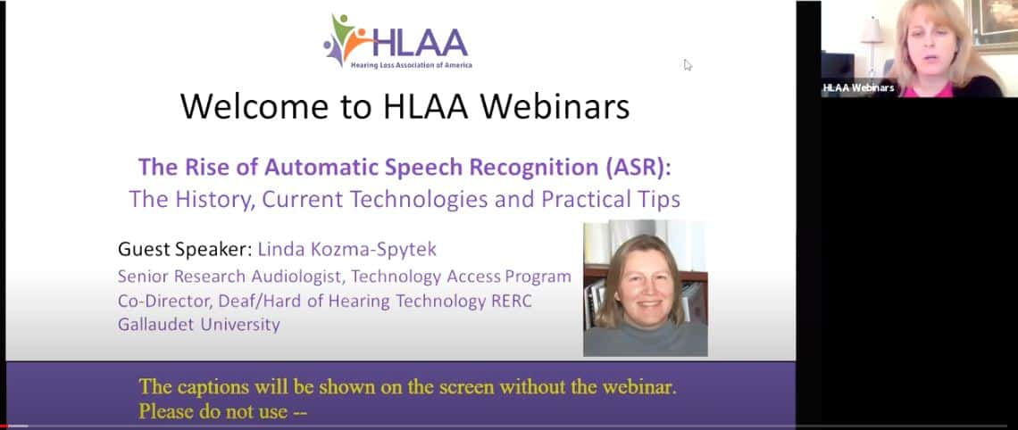 WEBINAR: Automatic Speech Recognition (ASR): The History, Current Technologies, and Practical Tips