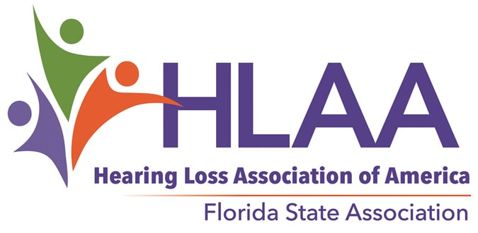 Hearing Loss Association of Florida Logo