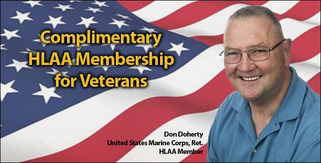 Complimentary HLAA Membership Available for Veterans