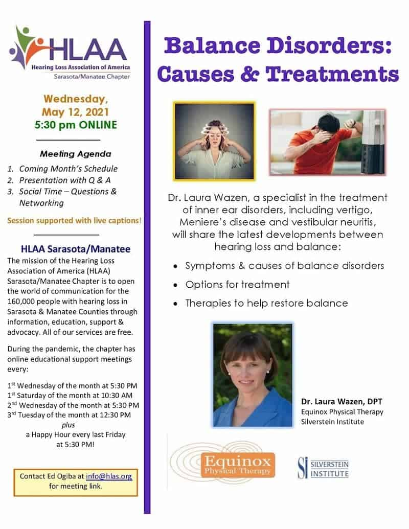 Balance Disorders - Causes and Treatments
