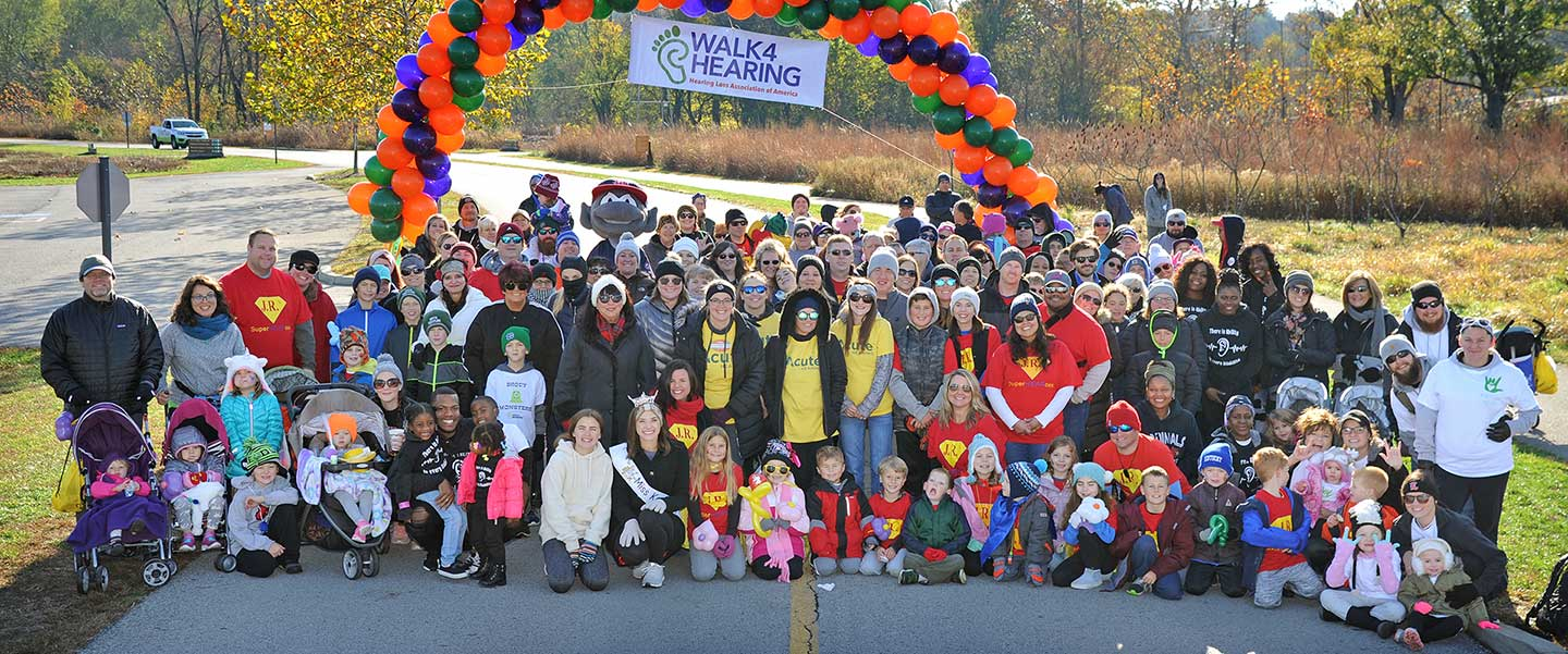 Community is the Essence of Walk4Hearing